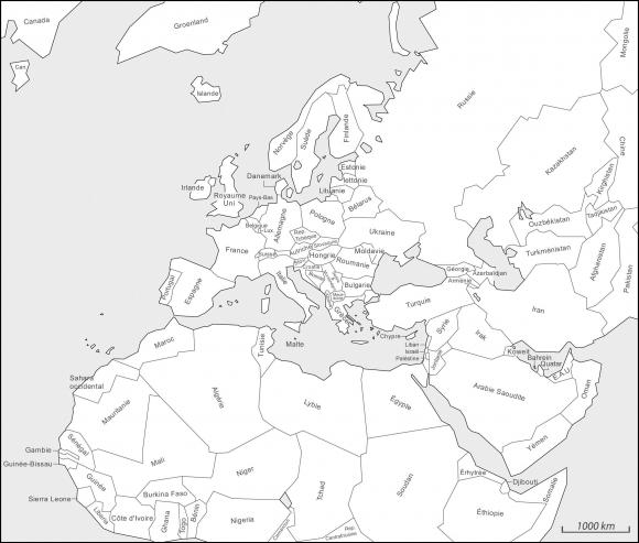 Vers Une Typologie Des Formes Spatiales Des Limites De L Europe