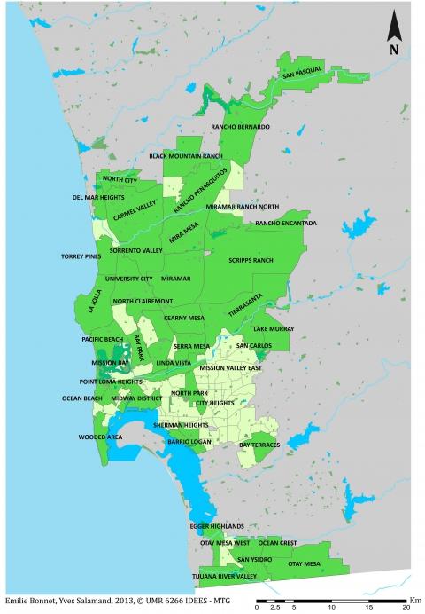 Segregation Spatiale Afro Americain Ville Etats Unis Carte