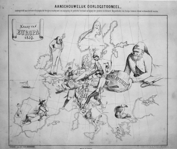 Bringing the map to life: European satirical maps 1845-1945