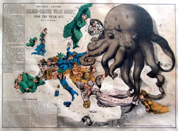 Humoristische Karte Von Europa 1914.Bringing The Map To Life European Satirical Maps 1845 1945