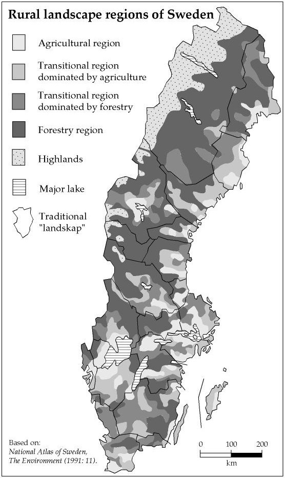 Landscape research in Sweden