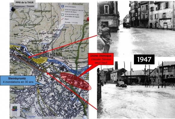 Carte Inondation Alsace.La Geohistoire Des Inondations Au Service De L Evaluation
