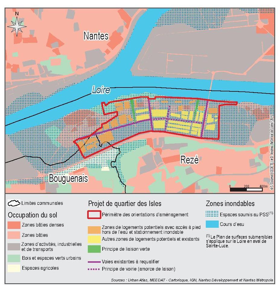 Les projets urbains en zones inondables communiquent ils for Les espaces verts urbains