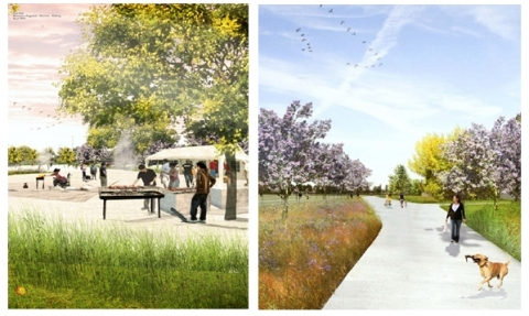 Figure 3. Research by design, Maxwan Architects, 1010, Karres & Brands landscape architects and Goudappel Coffeng.