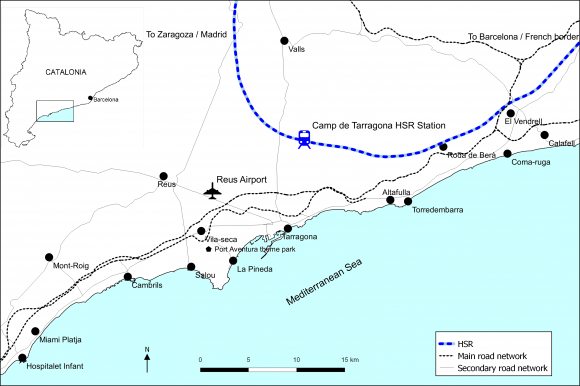 Measuring the influence of the Camp de Tarragona high-speed rail ...