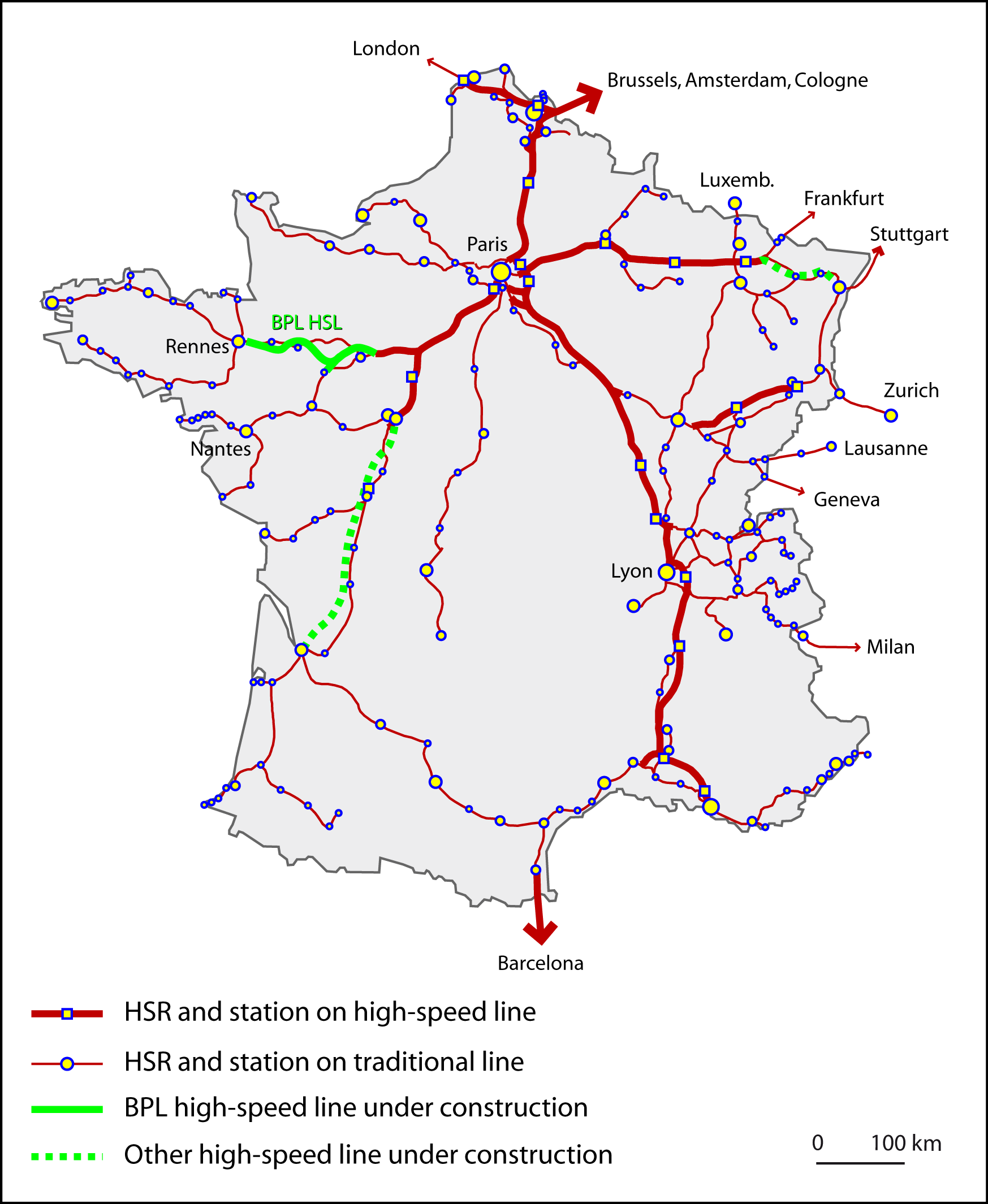 City Planning Related To The Completion Of New High Speed Line Lincoln Sa 200 Parts Breakdown Agrandir