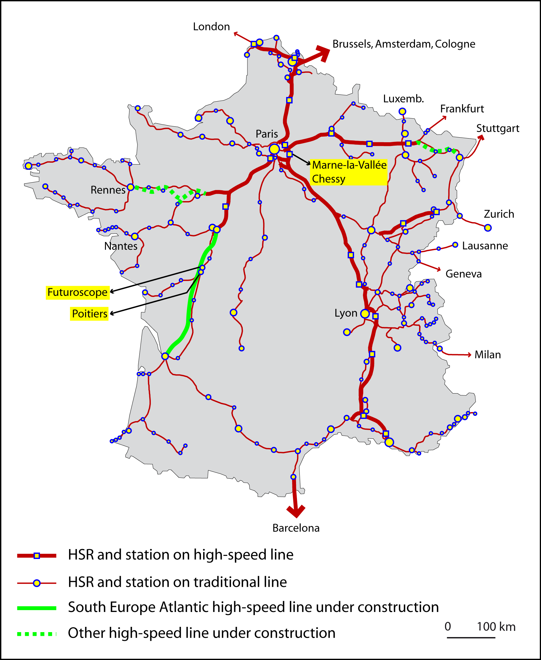 Does High Speed Rail Affect Destination Choice For Tourism