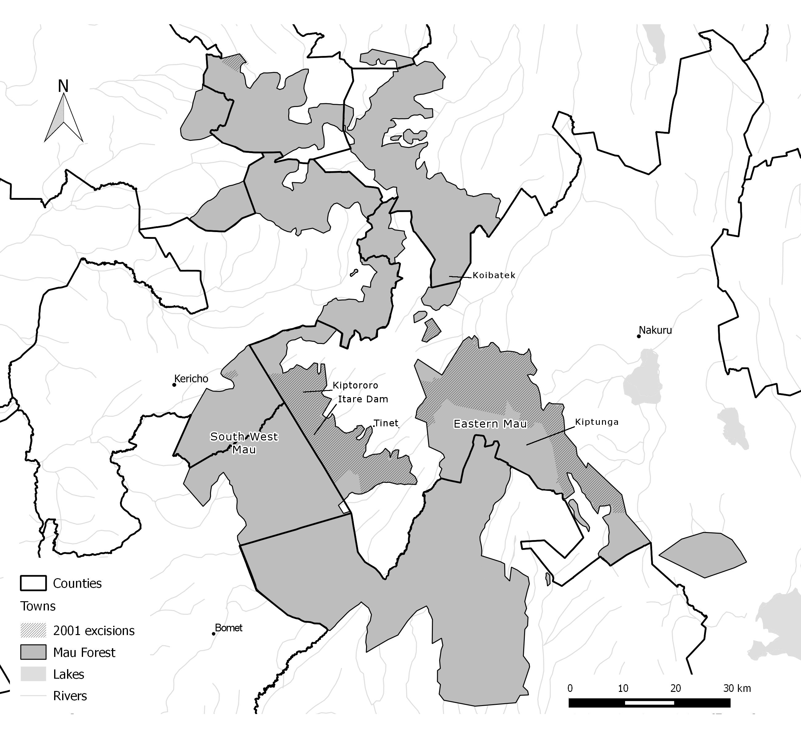 Relations of power driving tropical deforestation: a case