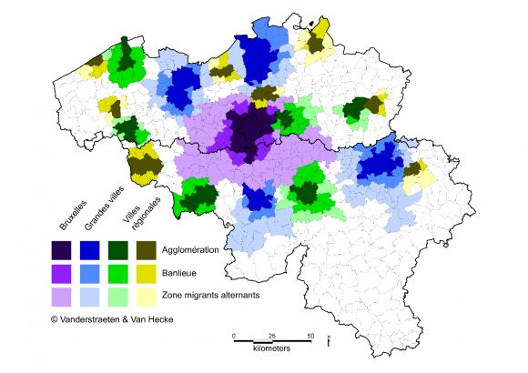 Les Regions Urbaines En Belgique