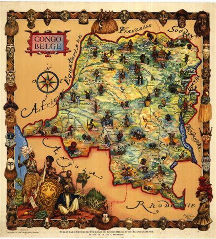 Un guide colonial. Le Guide du Voyageur au Congo belge et au