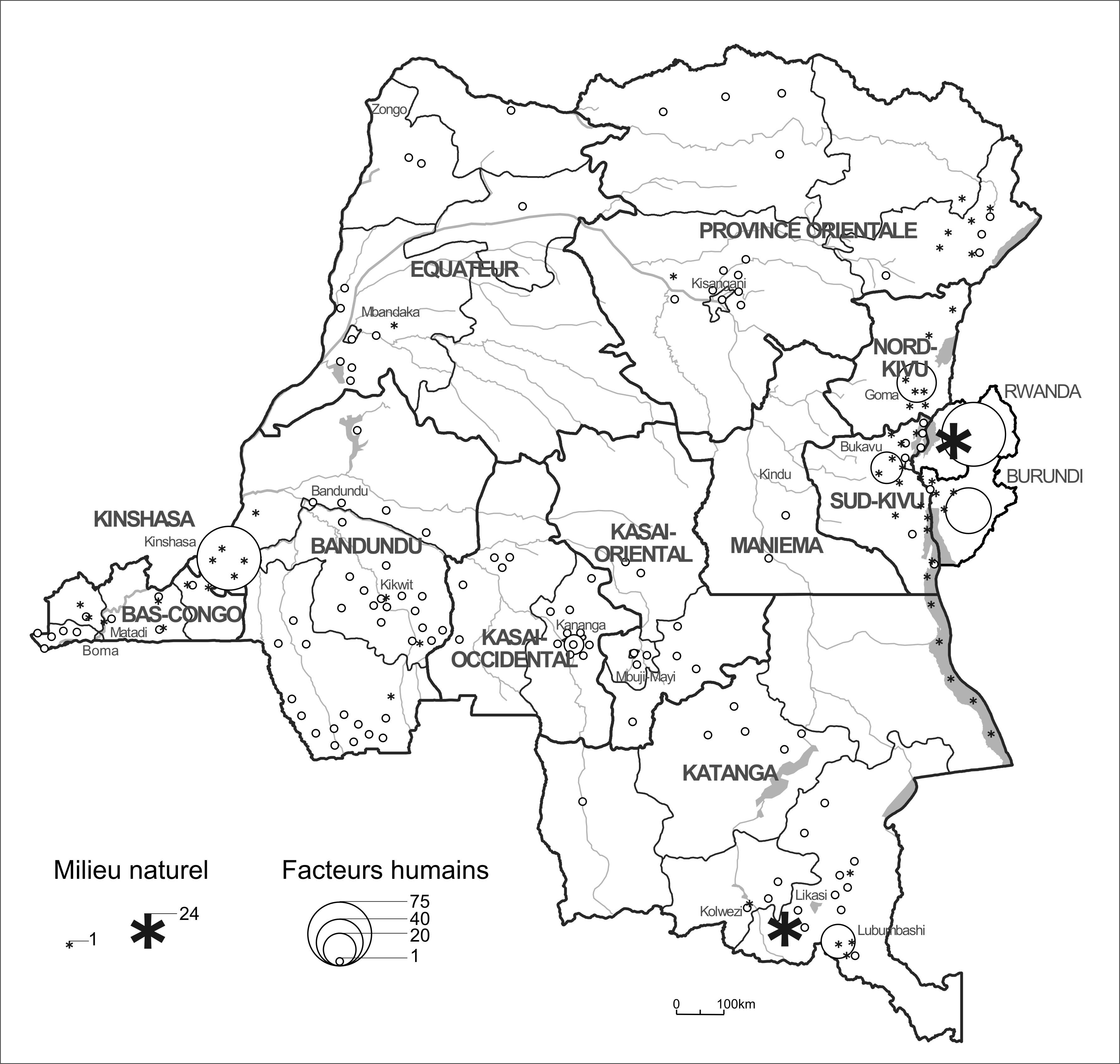 progr u00e8s de la connaissance du congo  du rwanda et du