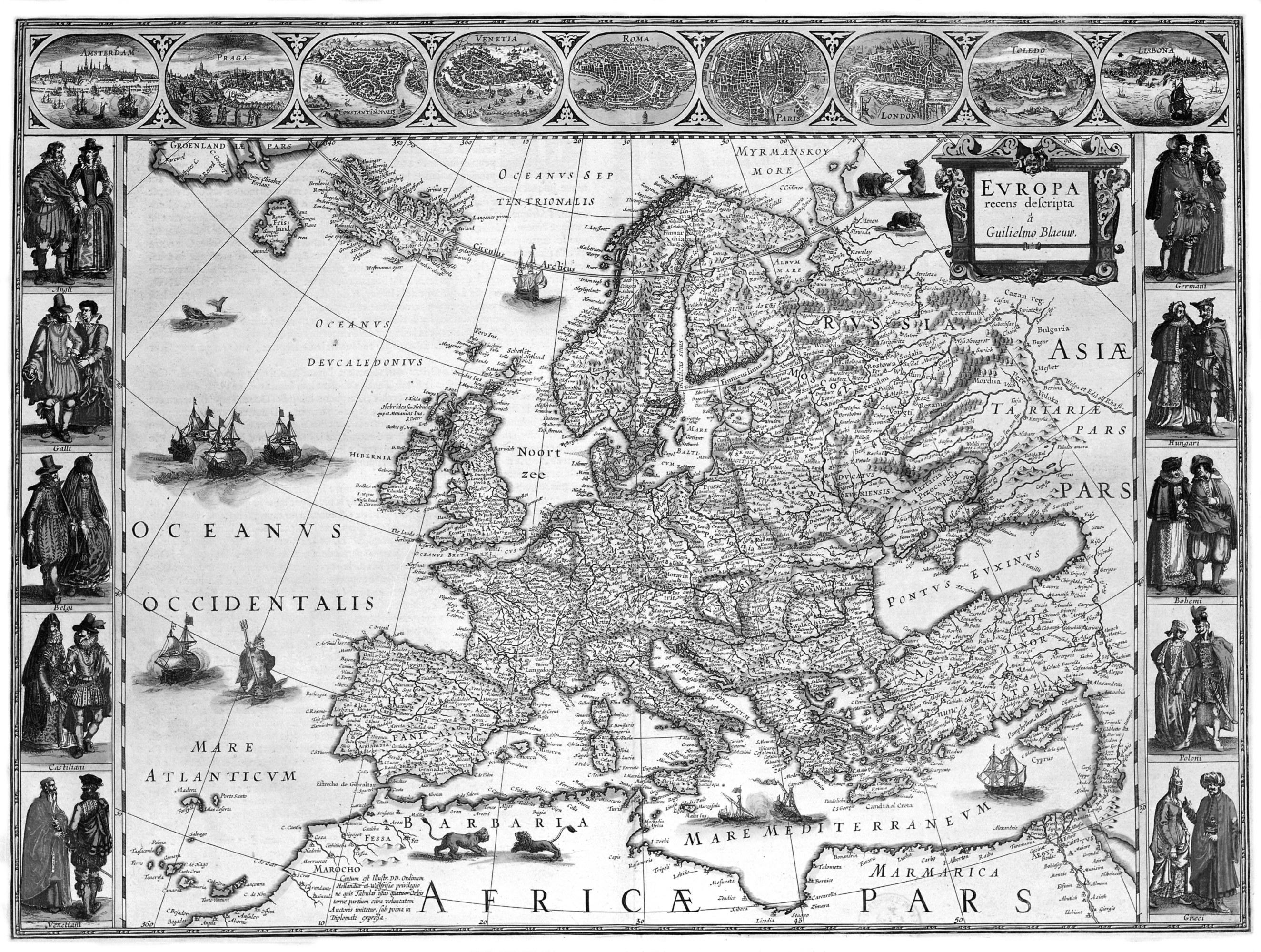 Carte De Leurope Avec La Hollande.Quelle Europe Pour Les Cartographes Des Xvie Et Xviie Siecles