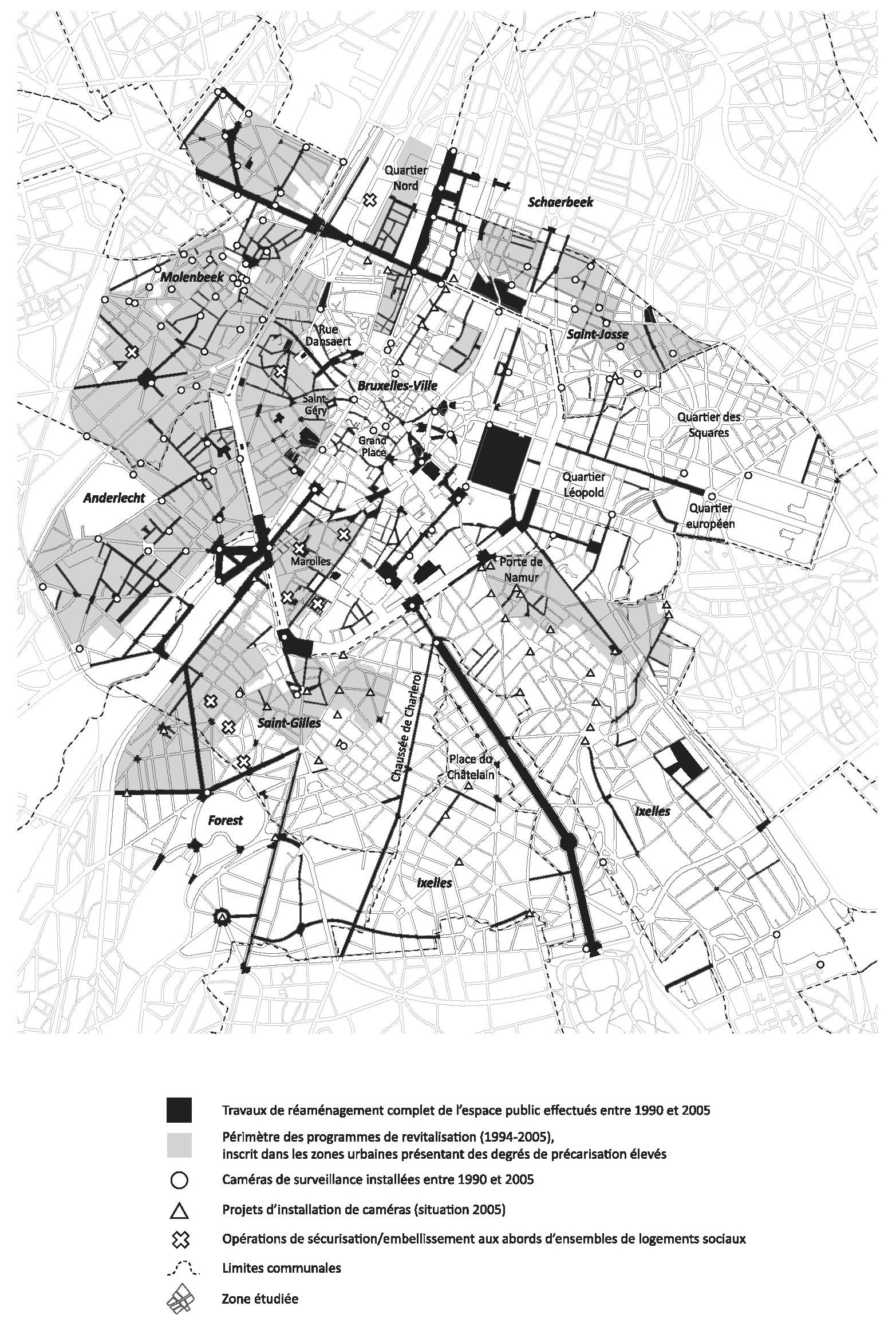 Programmes De Revitalisation De  Centres Villes Pilotes En France