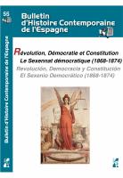 Révolution, Démocratie et Constitution