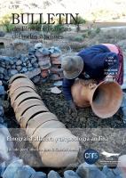 Etnografía alfarera y arqueología andina