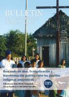 Buscando un dios. Evangelización y transformación política entre los pueblos indígenas amazónicos