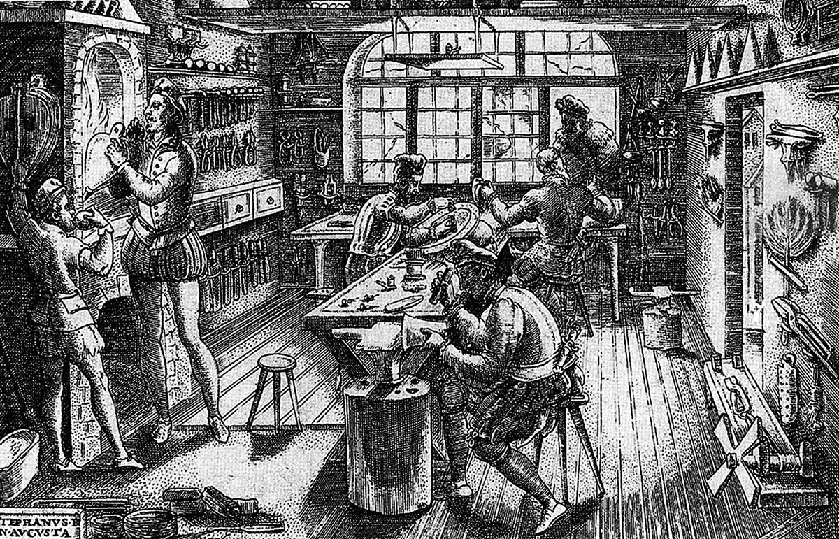 De la tecnolog a orfebre precolombina a la colonial - El taller de lo antiguo ...
