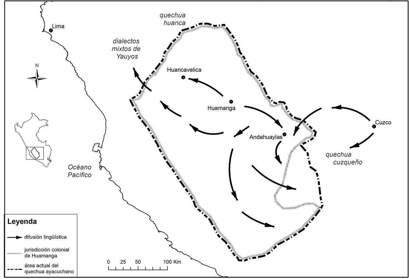 La formación del quechua ayacuchano, un proceso inca y colonial
