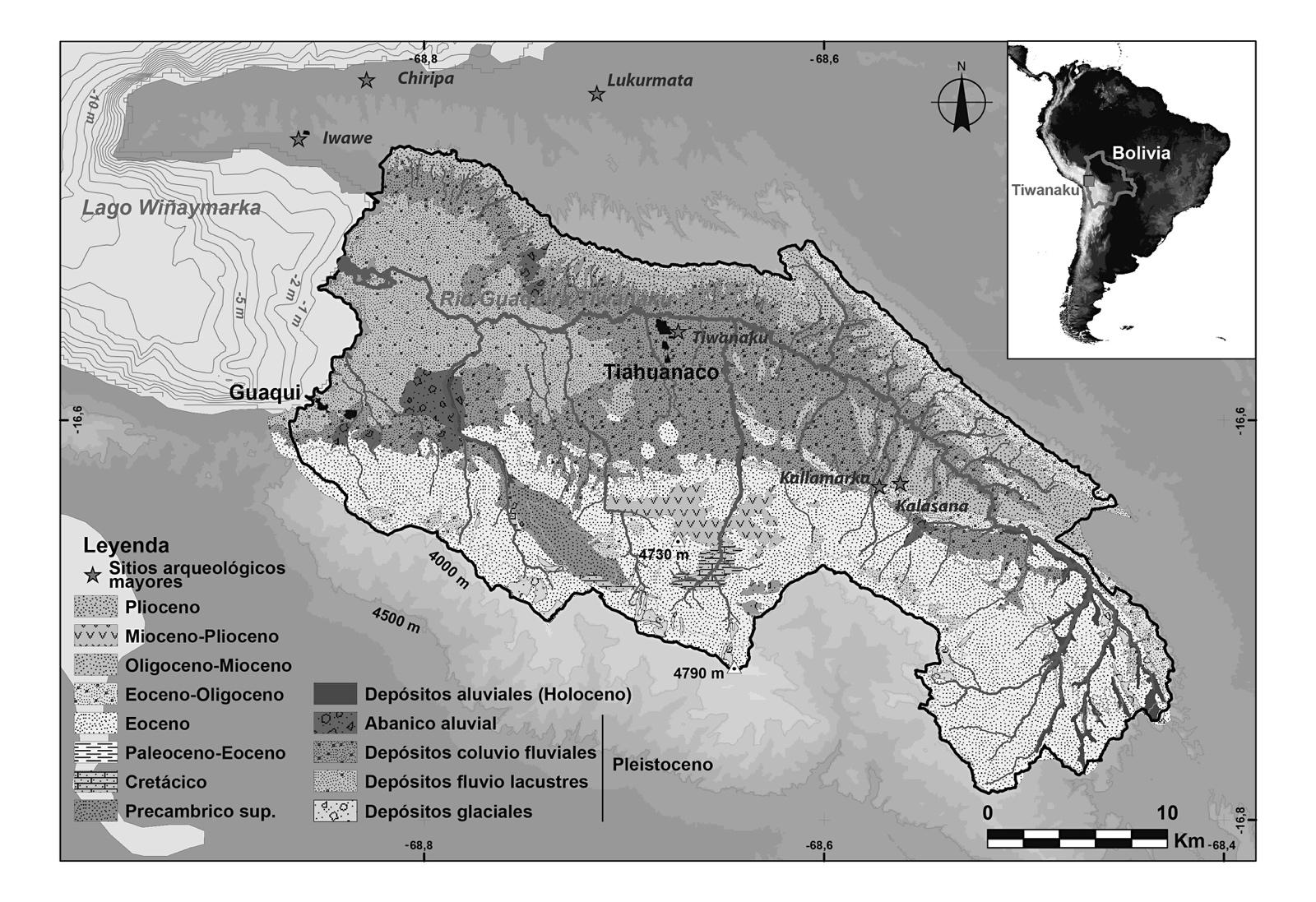La Misión Franco Boliviana Paleoambiente Y Arqueología Del Río