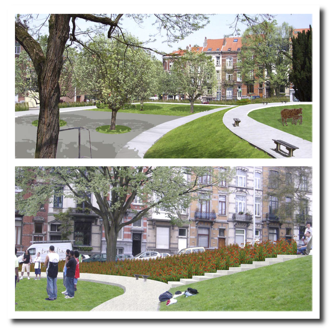 Concevoir et am nager les espaces publics bruxelles for Les espaces publics urbains