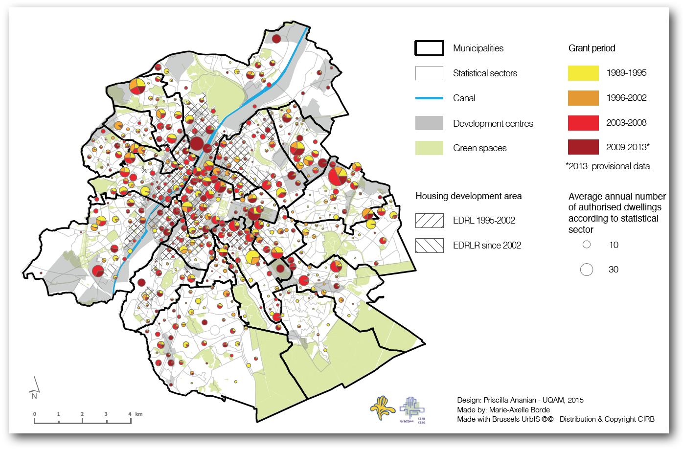Housing Production In Brussels The Neighbourhood City To Stand - Brussels location on world map