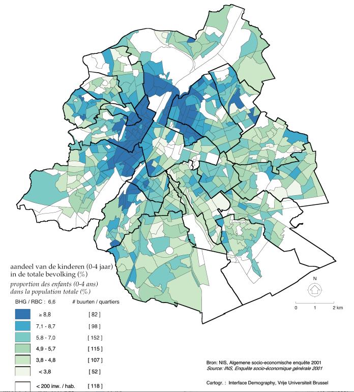 La Population Bruxelloise Un éclairage Démographique
