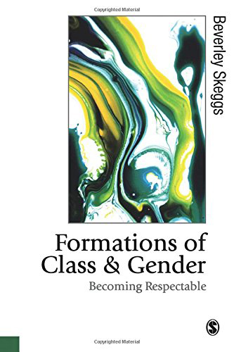 Première de couverture de l'édition originale de l'ouvrage de Beverley Skeggs (1997). Formations of Class and Gender. Becoming respectable