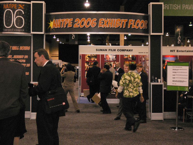 Fig. 1. On the NATPE 2006 Floor