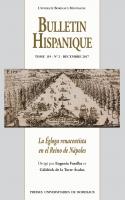 Bulletin Hispanique - Tome 119 - n° 2 - décembre 2017