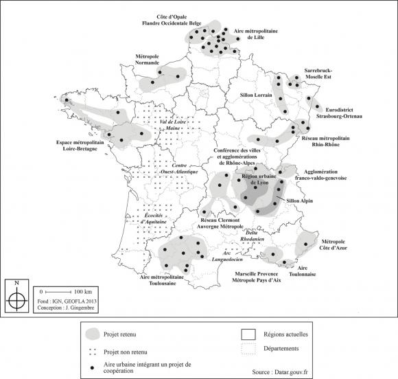 2c04cd47814f0 Figure 3   les projets candidats et les lauréats de l Appel à coopération  métropolitaine
