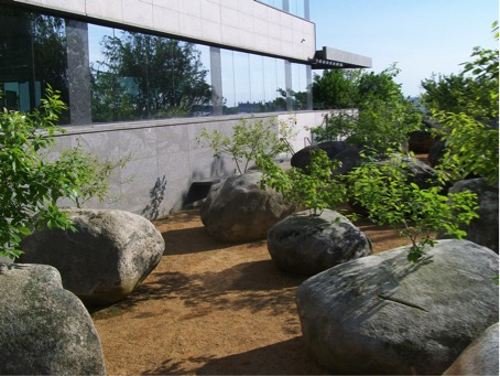 Figure 3 : Jardin de Pierres, Museum of Jewish Heritage, New York