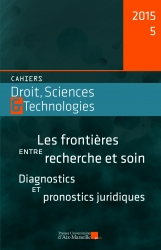 Cahiers Droits, Science & Technologie n° 5