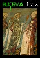 Rois saints et évêque, fresque de l'église luthérienne de Mălâncrav, mur sud du chœur, 1405-1418.