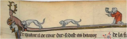 Fig. 13 – Paris, BnF, fr. 95, fol. 152.