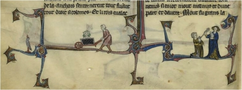 Fig. 26 – Paris, BnF, fr. 95, fol. 24v°.