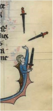 Fig. 46 – Paris, BnF, fr. 95, fol. 318.