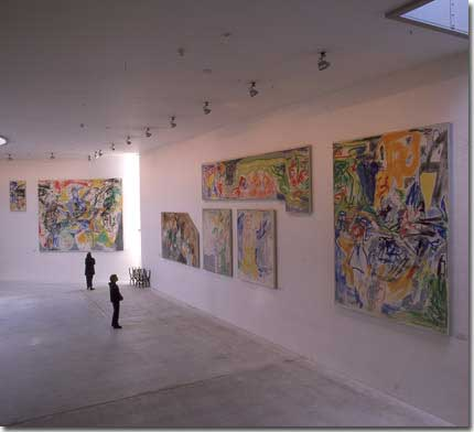 7b. Current exposition of the Asger Jorn mural in The Museum of Modern Art – Arken.