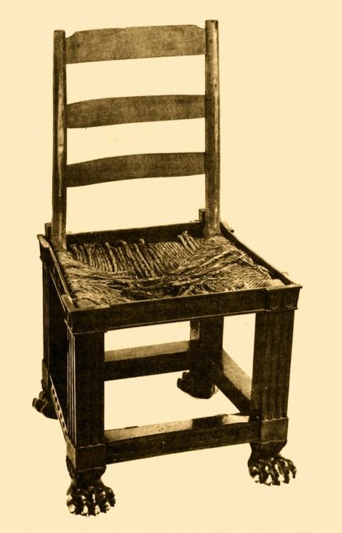 7 Chaise De Jean Jacques Rousseau