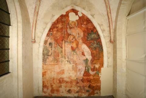 Découverte étude Et Restauration De Peintures Murales Ca