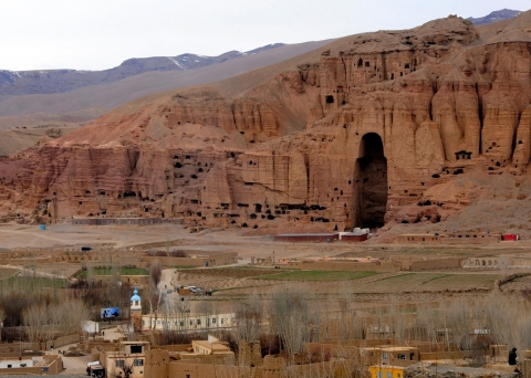 Fig.1 Bamyan