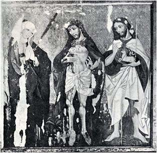 Fig. 5 Jesus Christ with Madonna and St. John the Baptist