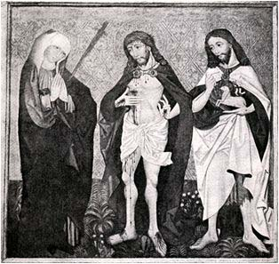 Fig. 6 Jesus Christ with Madonna and St. John the Baptist