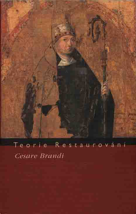 Fig.7 Theory of Restoration, a detail from the cover of the Czech translation