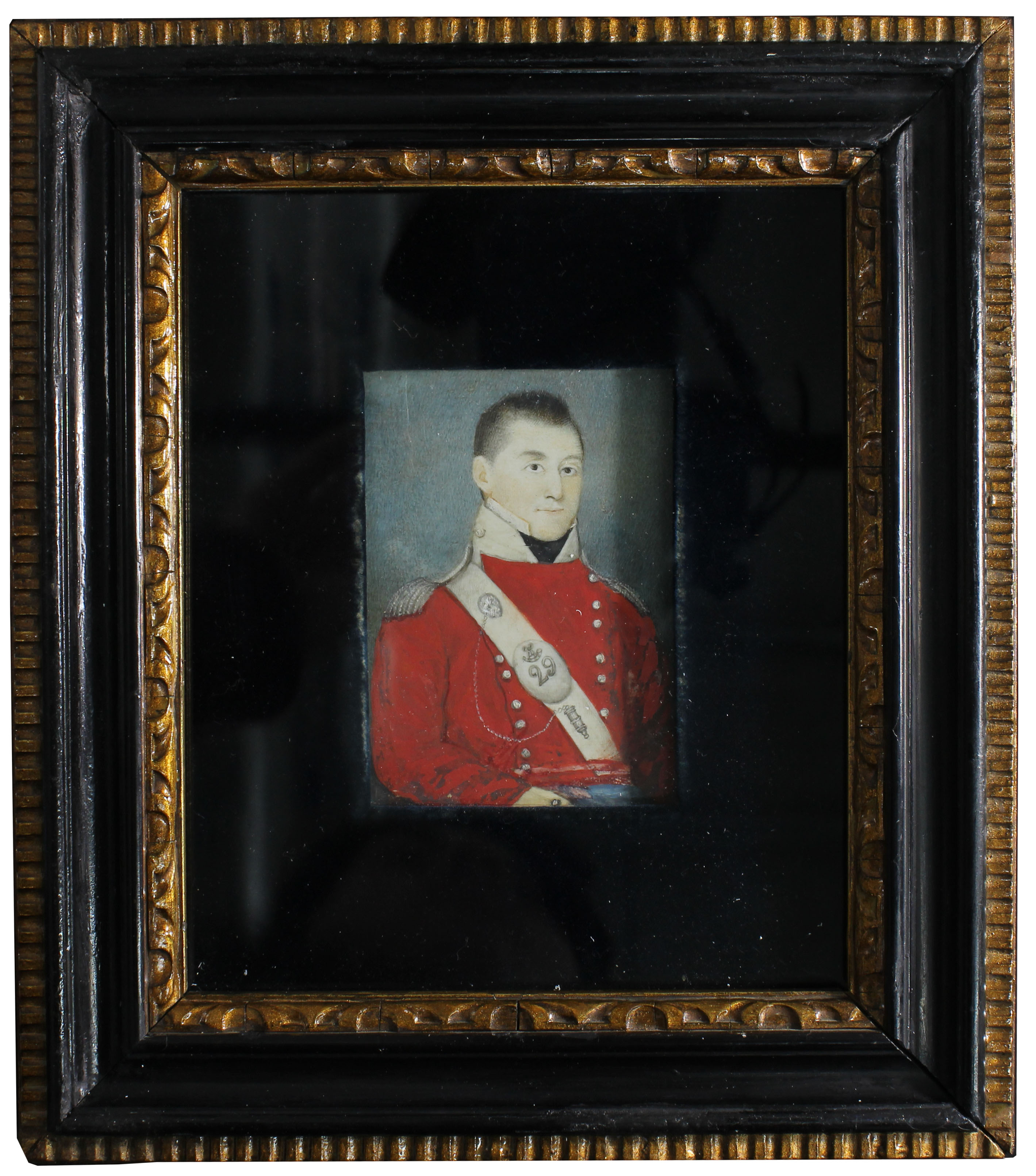 The Conservation Of A 19th Century Framed Miniature Portrait Painted