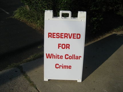 White Collar Crime Reservation