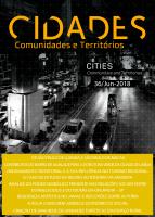Cover of Cidades  no. 36 | 2018