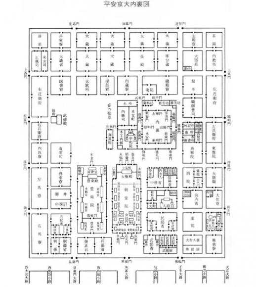 le palais de heian. Black Bedroom Furniture Sets. Home Design Ideas