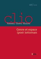 Couverture Clio 48 - 2018
