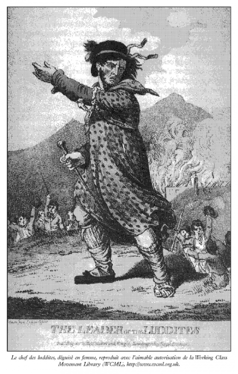 Figure 4. « The Leader of the Luddites », Working Class Movement Library (WCML).