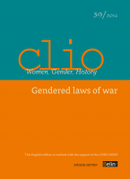 "Cover – Clio no. 39 | 2014, ""Gendered laws of war"""